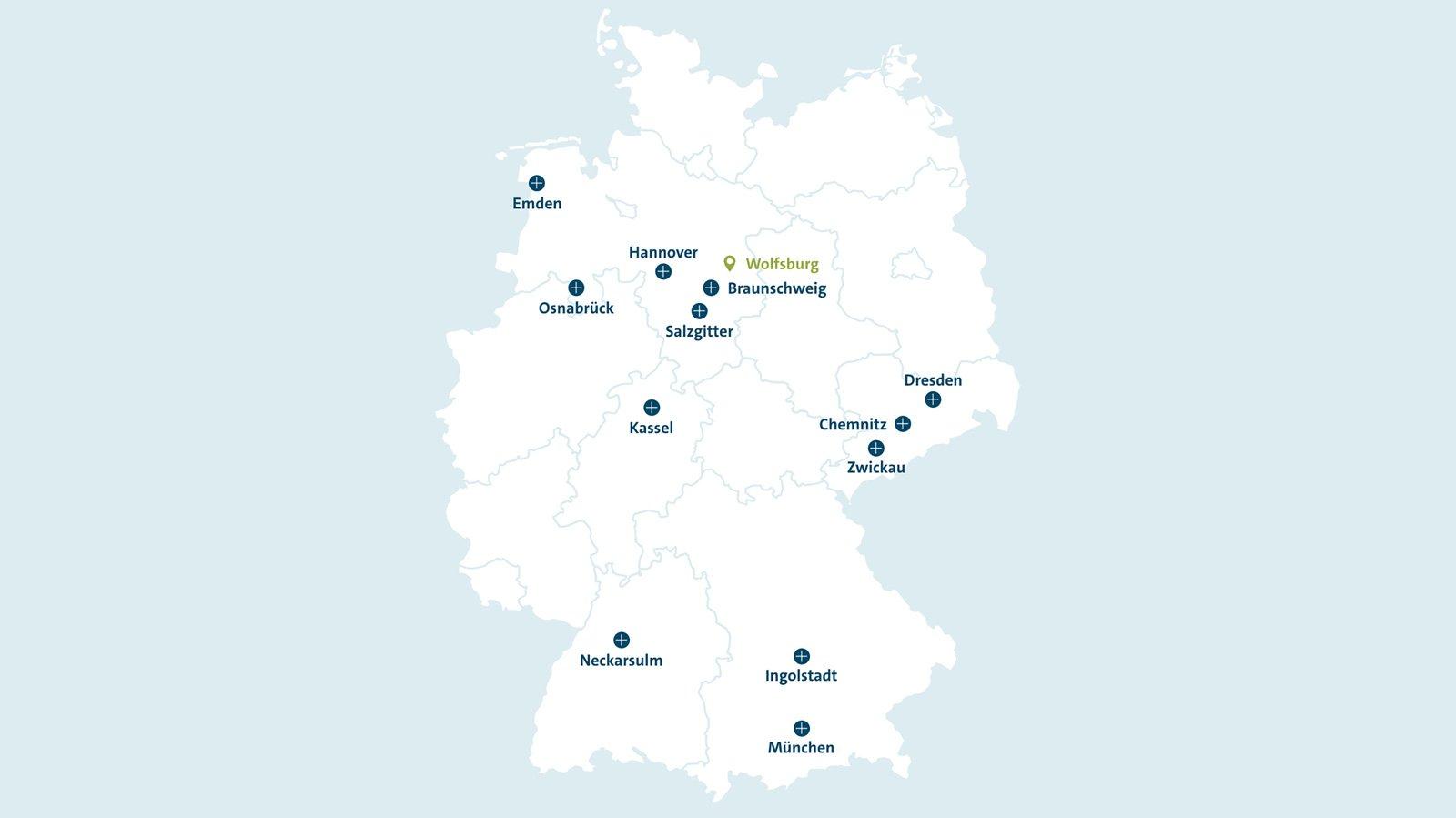 ingolstadt deutschlandkarte IT Control Center Jobs | Stellenangebote in der Volkswagen Group